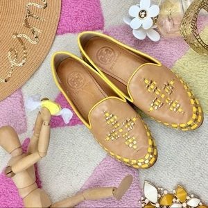 Tory Burch Leather Moccasins Sz 5